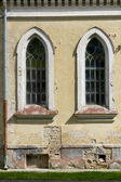 Lutheran church of st. Joann wall in center in Grodno — Stock Photo