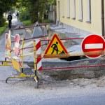 Road construction — Stock Photo #13127858