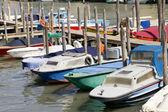 Barche ormeggiate a Venezia — Foto Stock