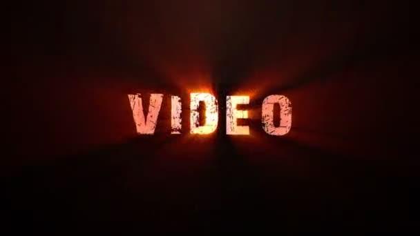 Web associés des transitions de texte — Vidéo