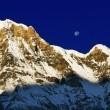 uno de los picos más altos del mundo annapurna — Foto de Stock