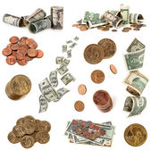 American Money Collection — Stockfoto