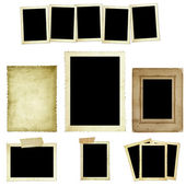 Collection of Vintage Photo Frames — 图库照片