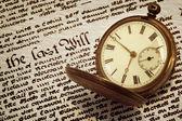 古い懐中時計とは — ストック写真