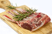 Rack of Lamb with Rosemary — Stock Photo