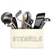 Kitchen Utensils Isolated — Stock Photo