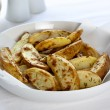Oven Baked Potato Wedges — Stock Photo