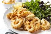 Salt and pepper Squid — Stock Photo
