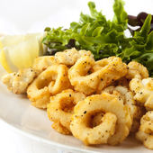 Calamari sale e pepe — Foto Stock