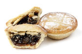 Mince Pies Isolated — Stock Photo