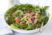 Tuna and Chickpea Salad — Stock Photo