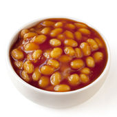 Baked Beans Isolated — Stock Photo