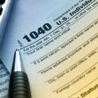 US Tax Form 1040 - Stock Photo