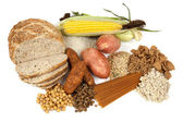 Alimentos fontes de carboidratos complexos — Foto Stock