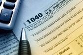 сша налоговая форма 1040 — Стоковое фото