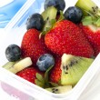Fruit Salad Lunch Box - Stock Photo