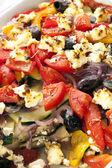 Asse legumes assado — Fotografia Stock