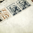 Royalty-Free Stock Photo: Vintage Letters and Stamps