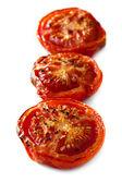 Roasted Tomatoes Isolated — Stock Photo
