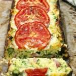 ������, ������: Zucchini and Bacon Slice