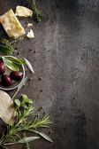Lebensmittel-hintergrund — Stockfoto