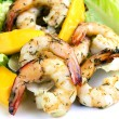 Shrimp and Mango Salad - Stockfoto