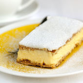 Vanilla Slice — Stock Photo