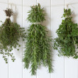 Fresh Herbs Hanging — Stock Photo #25828797