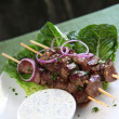 Stock Photo: Lamb Kebabs