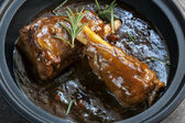 Lamb Shanks in Gravy — Stock Photo