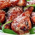 Chicken Drumsticks — Stock Photo