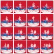 Collection of Birthday Number Candles — Foto Stock