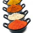 Spices Isolated — Stock Photo