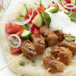 Stock Photo: Tandoori Lamb Kebabs