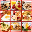 Breakfast Collage — Stock Photo #34189383