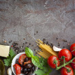 Italian Food Background — Stock Photo #35172907