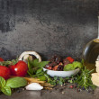 Italian Food Background — Stock Photo #35174523