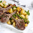 Lamb Dinner — Stock Photo #35756977
