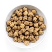 Roasted Chickpeas Isolated — Stock Photo