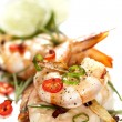 Garlic Prawns with Chili — Stock Photo #40066111