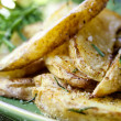 Fried Potatoes with Rosemary — Stock Photo #40511447