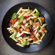 Eggplant Chilli and Tomato Pasta — Stock Photo #40938545