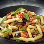 ������, ������: Eggplant Chilli and Tomato Pasta