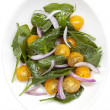 Spinach and Tomato Salad — Stock Photo #42145949