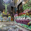 Melbourne Street Graffiti — Stockfoto #44104591