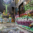 Melbourne straat graffiti — Stockfoto #44104591