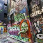 Melbourne Street Graffiti — Stock Photo