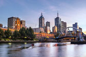 Melbourne Morning — Stock Photo