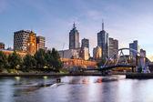 Melbourne Morning — Stock Photo