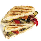 Healthy Veggie Panini — Stock Photo